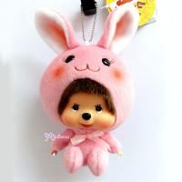 Monchhichi Big Head MCC x Chamekko Keychain Bunny RABI 220570