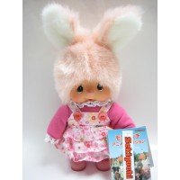 231460 MCC Anime Monchhichi Friend S Size Plush Chim Tan Bunny