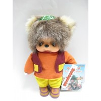 231480 MCC Anime Monchhichi Friend Plush Tanu Tanu 朋友 浣熊