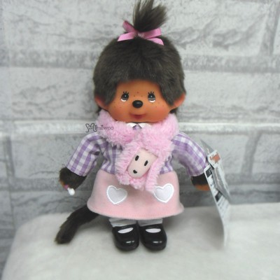 Monchhichi S Tokyo Fashion Poodle Muffler MCC with Shoes 242672
