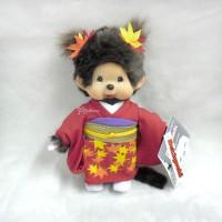 Sekiguchi Monchhichi Plush 20cm MCC Scarlet Maple Leaves 256180