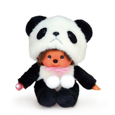 Monchhichi S Size Plush MCC Animal Sitting Panda 259060