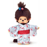 Monchhichi S Size Japanese Summer Goldfish Yukata Girl 259182