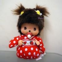 Bebichhichi Girl Sitting Strawberry Kimono BBCC 259922