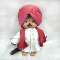 276020 Sekiguchi Monchhichi Plush 20cm MCC National Indian Boy