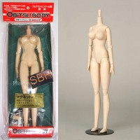27BD-F07W-G Obitsu 27cm Body Soft Bust SBH-L White Magnet