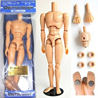 27BD-M02R-G Obitsu Doll Male 27cm Body - Natural, Magnet