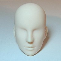 27HD-M02W Obitsu 1/6 Male Doll Head - 02 White