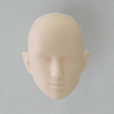 27HD-M03W Obitsu 1/6 Male Doll Head - 03 White
