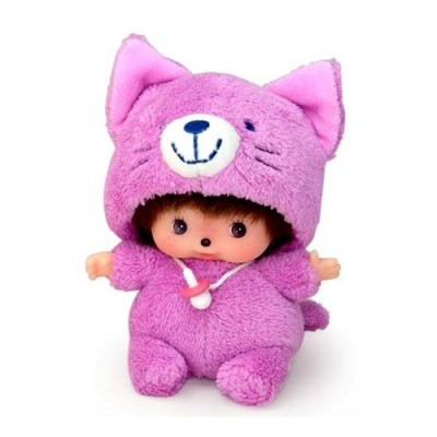 Sekiguchi Monchhichi Baby Bebichhichi BBCC Animal Cat 292260