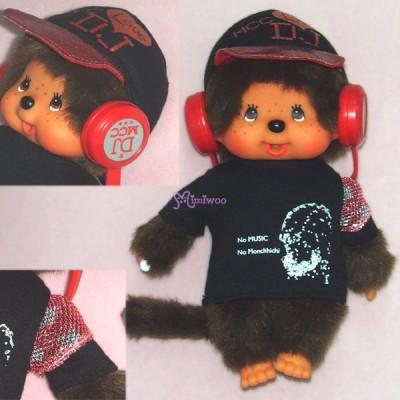 Monchhichi S Size Plush DJ MCC Disc Jockey Boy 294130
