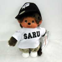 843690 東京暴族 Santastic Wear x Monchhichi SARU MCC White