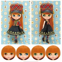 "TOPSHOP Limited 12"" Neo Blythe Plaid Parade Doll 141471 ~ NEW ~"