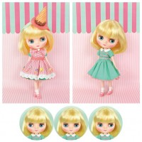 "CWC Limited Girl Doll Middie Blythe Smiley Waffle 613350  ""LAST ONE"""