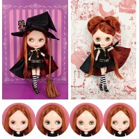 CWC Top Shop Neo Blythe Magical World of Sugar Rune Presents Chocolat Blythe 878247