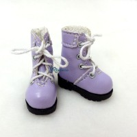 1/6 Bjd Neo Blythe Doll Shoes Boots Purple SHP002PUE