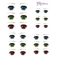 ED6-01 Obitsu 27cm Body 1/6 Dollfie Doll Eye Decal Sticker 01