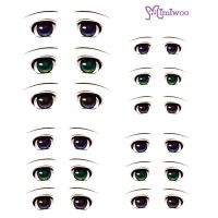 ED6-03 1/6 Bjd Doll Eye Decal Sticker 03