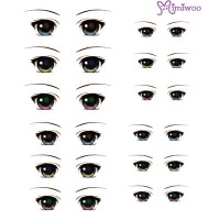 ED6-04 1/6 Bjd Doll Eye Decal Sticker 04