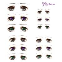 ED6-05 1/6 Bjd Doll Eye Decal Sticker 05