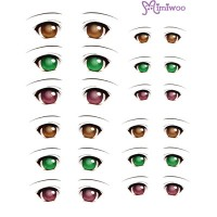 ED6-06 1/6 Bjd Doll Eye Decal Sticker 06