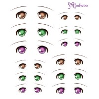 ED6-07 1/6 Bjd Doll Eye Decal Sticker 07