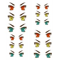 ED6-30 1/6 Bjd Doll Eye Decal Sticker 30