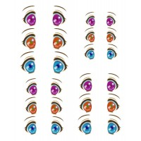 ED6-31 1/6 Bjd Doll Eye Decal Sticker 31
