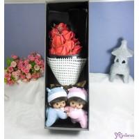 Bebichhichi Romper Lying + 情人節 肥皂花 花束 Soap Flower Rose Gift Box Set