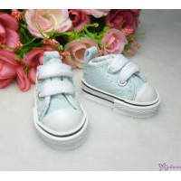 SHH011BLE Hujoo Berry Yomi Obitsu 1/6 Male Denim Shoes Blue