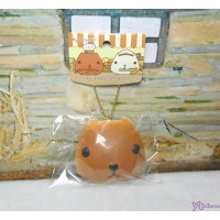 日本限定 Kapibara San Squishy Mascot 水豚君 治愈 吊飾 BROWN 619303
