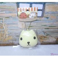日本限定 Kapibara San Squishy Mascot 水豚君 治愈 吊飾 WHITE 619310