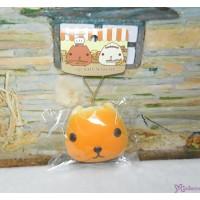日本限定 Kapibara San Squishy Mascot 水豚君 治愈 吊飾 ORANGE 619341