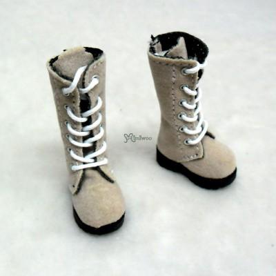 LYS003BLD Lati Yellow Blythe Pullip Shoes Velvet Boots Blonde