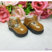1/6 BJD Doll T-Strap Buckle Shoes Brown LYS022BRN