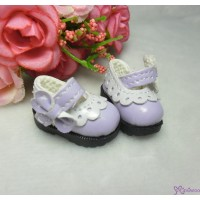 16cm Lati Yellow Mary Jane Strap Shoes Purple SHP112PUE