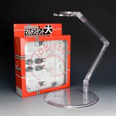 Obitsu 1/4 & 1/3 Bjd Figure Plastic Doll Stand Large Clear MLSTL-D01C