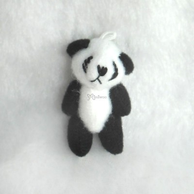 WAB005PA 1/6 BJD Doll 4cm Mini Plush Panda (20pcs Set) WAB005S-BK