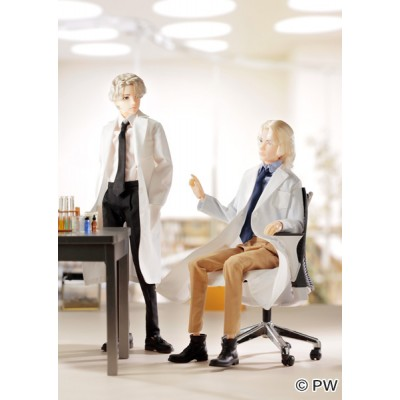 252615 Petworks 1/6 Boys & Male Album White Coat Style EIGHT ~ NEW ~ LAST ONE
