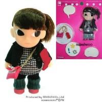 Mame Momoko x Checker Fashion Girl 10cm 可動 膠公仔 215500
