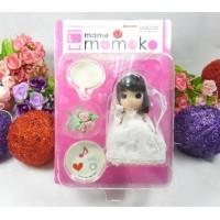 Mame Momoko Wedding Girl 10cm 可動 膠公仔 216300