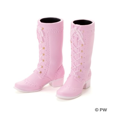 Petworks CCS Momoko & Ruruko  1/6 Bjd Doll Shoes High Quality Boots Pink 251236