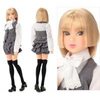 Momoko 27cm Girl Fashion Doll MONOCHROME FLOWER ~ PRE-ORDER ~