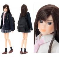 Momoko 27cm Girl Doll Monchhichi High School LOVE 219964