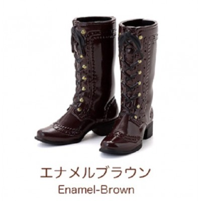 "Petworks CCS Shoes Mid-Calf Lace-Up Boots Brown fit Momoko & Ruruko ""PRE-ORDER"""