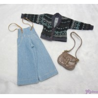 Sekiguchi Momoko Fashion Outfit Knit Outer / Gaucho Pants / Shoulder Bag MDS-05