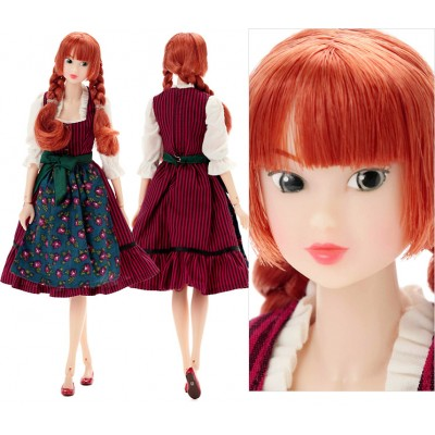 "Sekiguchi Momoko 27cm Fashion Girl Doll Princess Dirndl Tomboy Ver.  ""PRE-ORDER"""