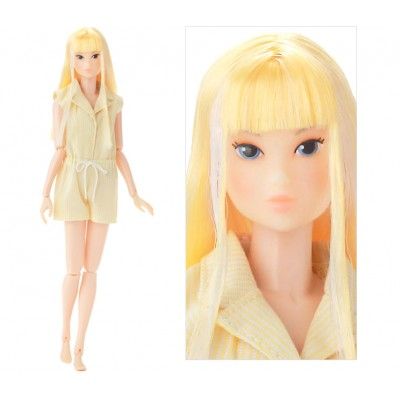 "Wake Up momoko DOLL Wakup Yellow Fashion White Skin Girl WUD027 ""PRE-ORDER"""