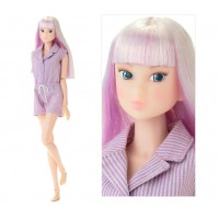 Wake Up momoko DOLL WUD028 Wakup Violet Fashion White Skin Girl 219797