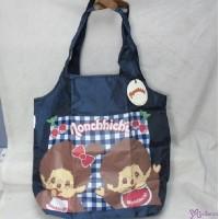 Monchhichi Eco Bag Ecobag Blue 環保袋 20017